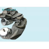 Carbon Black Plant Fiberglass Filter Bags Dust Filter / Air Filter Media Manufactures