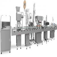 Capsule Counting Automated Packaging Equipment Filling Capping And Labeling Machine Manufactures