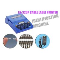 China DC 12V 2A cable label printer Automatic half - cutting lasting wire label machine on sale