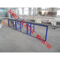 Full Automatic WPC Profile Production Line , Railing / Tray Profile Plastic Extruder Manufactures