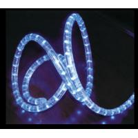 Blue PVC Covered Waterproof Outdoor Energy Saving LED Neon Rope Light for Streets 220V Manufactures