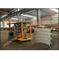 Metal Trapezoidal Profile Bull-nosing IBR Roof Sheeting Crimping Machine Manufactures