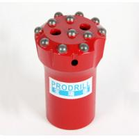 Tungsten Carbide Rock Drilling Tools Threaded Button Bits With T38 T45 64mm Thread