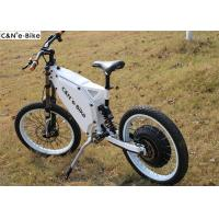 China Enduro / Off Road Electric Hub Motor Bicycle Long Range Distance For Fatboy / Adults on sale