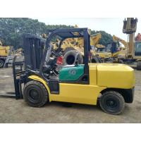 5 Ton Second Hand Forklift Truck FD50 , Used Warehouse Forklift Low Working Hours Manufactures