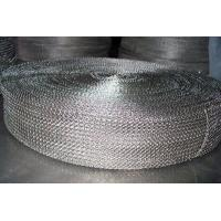 China Cable Shielding Security Stainless Steel Knitted Wire Mesh For Exhaust Systems on sale