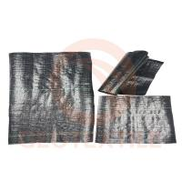 China 0.8m * 200m Woven Ground Control Fabric , Anti Grass Commercial Grade Landscape Fabric on sale