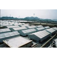 Durable Large Storage Tent , Aluminum Clear Span Structure Tents For Industry Warehouse Manufactures