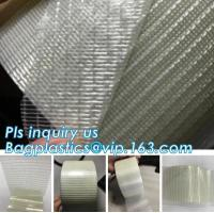 Glass Mesh carpet tape,PET film glass fiber mesh tape,Fiberglass mesh tape for gypsum,160Mic Backing Fiberglass Double S Manufactures