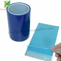 Blue Color Factory Supply 0.03mm-0.20 Thickness Aluminium Surface Protective Film Manufactures