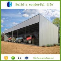 Prefabricated steel structure shed structural steel fabrication company supplier Manufactures