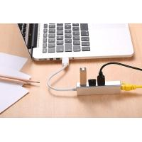 China USB 2.0 Hub with RJ45 10/100/1000 Gigabit Ethernet Adapter Converter LAN Wired USB Network adapter for Ultrabooks on sale