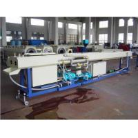 Plastic Pipe Extrusion Line , PVC Twin Pipe Extrusion Production Line , pvc Double Screw Pipe Making Machine Manufactures