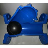 China DN50  Ductile iron Flanged Ball check valve - EPDM+iron ball on sale