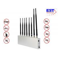Wifi Gps Cell Phone Signal Jammer For Examination Room / Portable Cell Phone Signal Blocker Device Manufactures