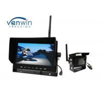 Quality Wireless HD TFT Car Monitor , 24V Wireless Reversing camera Kit for Truck for sale