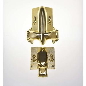 Stationary Handle Casket Corners 2# Star Design For Metal / Wooden Casket Manufactures