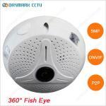 360 degree panoramic fish-eye lens 5 megapixel cctv camera Manufactures