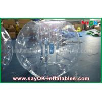 0.8mm PVC Adult Inflatable Human Bubble Zorb Soccer Ball For Sports Games Manufactures