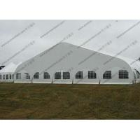 Transparent Windows Curved Tent Aluminum Frame Easy Dismantled For Outdoor Event Manufactures