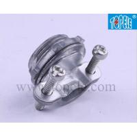 Buy cheap UL Standard 514B EMT Conduit And Fittings Romex Cable Clamp Connector ZINC from wholesalers