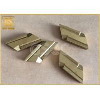 Customized Size Tungsten Carbide Inserts With Universal Groove Profile Design Manufactures