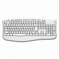 China Slim Multimedia Keyboard, Measuring 457 x 200 x 23mm on sale