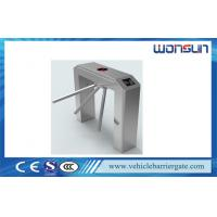 Electronic Security Barrier Gate tripod turnstile For Passenger Access Control Manufactures
