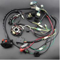 loom gy6 engine wiring harness universal harness kit with