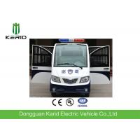 8 Seats Enclosed Electric Pick Up Car With Alarm Lamp  For City Walking Street Manufactures