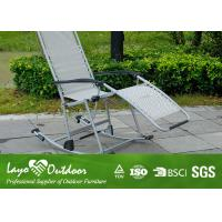 Folding Beach Rocking Chair Manchester Chaise Lounge , Personalized Beach Chairs For Adults Manufactures