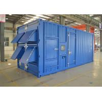 China 12 Cylinder Water Cooled 1200kw 1500kva Container Diesel Generator Set on sale