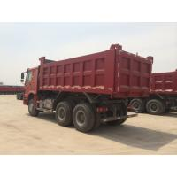 6x4 16m3 10 Wheels LHD Heavy Duty Tipper Trucks With Triangle Brand Tire Tr668 Tr691 Manufactures