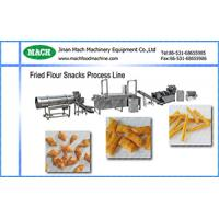 full Automatic 304 Stainless Steel Fried wheat flour snacks food machinery Manufactures