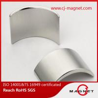 Quality Permanent powerful rare earth magnets with high Br , High coercivity for sale