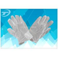 Vinyl Exam Gloves Industrial / Medical Grade , Powdered And Powder Free Style Manufactures