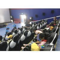 Quality 24 Seats 5D Theater System With Electric Motion 5D Chair Play Roller Coaster Film In Mall for sale