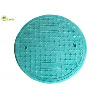 GRP Composite Manhole Covers Circular Frame Polymer Resin Foundry Well Grating Manufactures