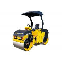 China Compact Road Construction Equipment 3.5 ton Small Hydraulic Tandem Vibratory Rollers on sale