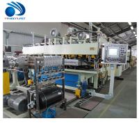 Spiral Feeding Plastic Board / TPE Sheet Extrusion Line 380V 50Hz CE Manufactures