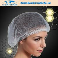 Colorful Disposable Nonwoven PP Surgical Bouffant Clic Surgical Cap with Elastic