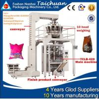 factory price TAICHUAN almond/green pean/ sunflower seeds packing machine Manufactures