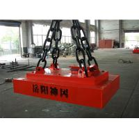 1400*900mm Electric Lifting Magnets , Sheet Metal Lifting Magnets Deep Permeability Manufactures