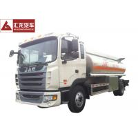 China Advanced Chassis Fuel Delivery Truck Light Tare Weight With Anti - Electro Static Pole on sale
