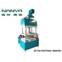 Hot - Pressing Shaping Paper Pulp Molding Machine For Industrial Packing Trays Manufactures