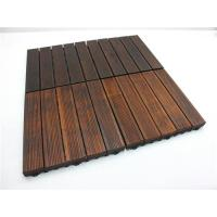 China Home Decorators Bamboo Wood Panels Water Resistant For Bathroom Floor on sale