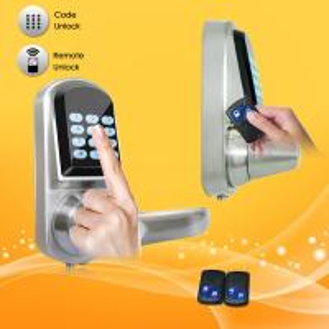 China High Sensitivity Smart Digital Door Lock , Remote Electronic Door Locks For Homes on sale
