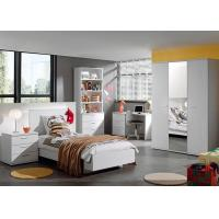 Buy cheap White Color Childrens Bedroom Furniture Sets High Gloss / Melamine Finished from wholesalers