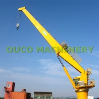 Buy cheap 25t 20m Cargo CE Marine Cranes With Straight Boom from wholesalers