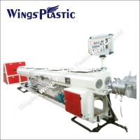 Double - PVC Conduit Pipe Manufacturing Machine / Extrusion Line Manufactures